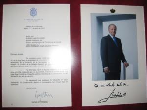 Carta Real IV Centenario