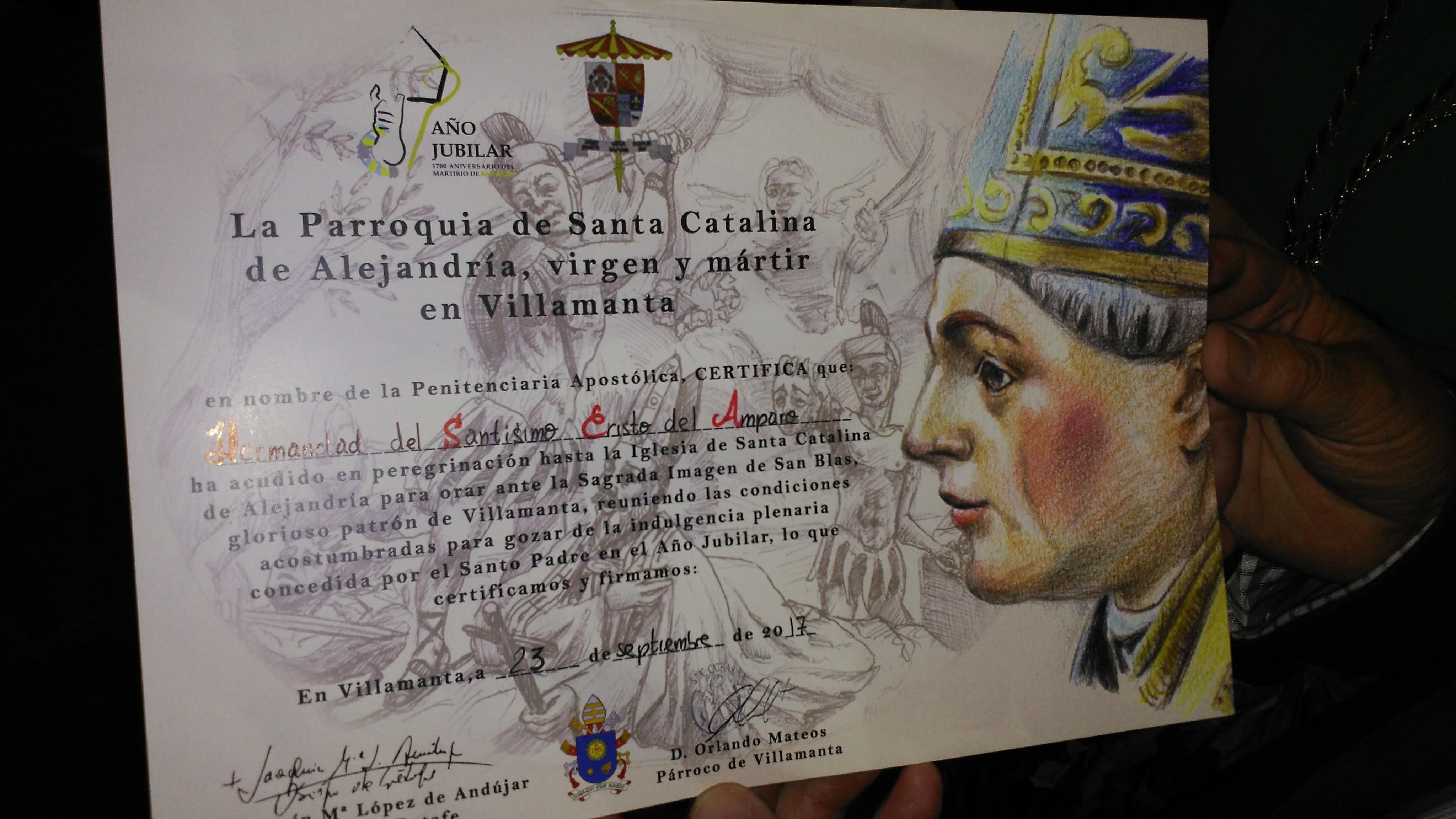 Jubileo y Magna Procesión de San Blas en Villamanta